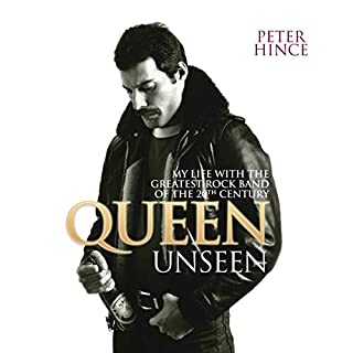 Queen Unseen audiobook cover art