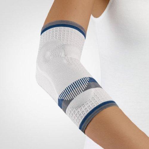 Bort EpiBAsic Ellenbogen-Bandage, Tennisarm-Bandage / SILBER Gr. Small