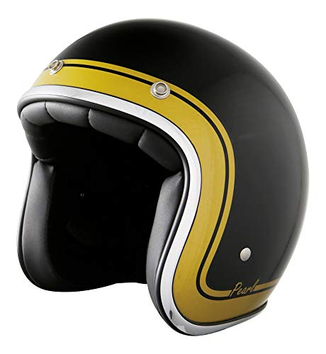 Casque jet stormer pearl classic gold Taille XS