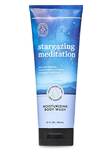 Bath and Body Works Aromatherapy Body Wash Stargazing Meditation 10 Ounce Large Tube