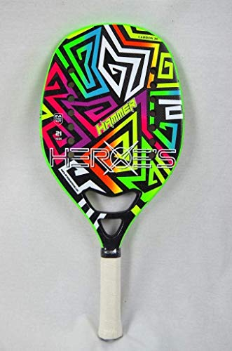 Heroe's #Hammer 2.0 Raquette de Beach Tennis