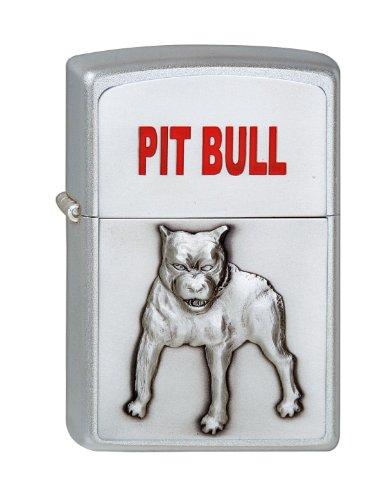 Zippo Zippo 1320048 Feuerzeug 205 Pit Bull Emblem Silber