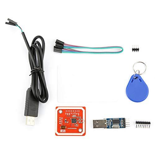Starbun PN532/PL2303HX NFC-Nahfeldkommunikation RFID V3-Lese-/Schreibmodul unterstützt die Kommunikation mit Mobilgeräten, die mit Arduino Raspberry Pi DIY usw. Kompatibel sind