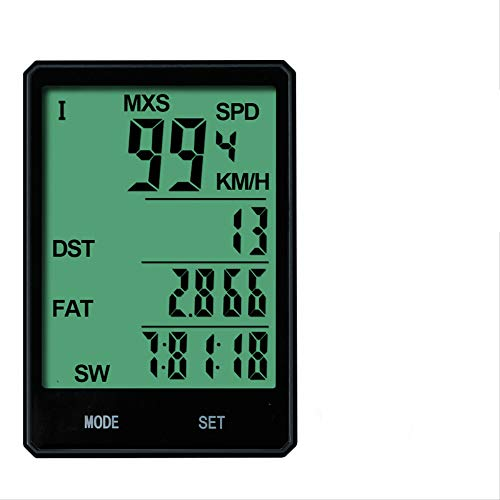 TAOZYY Tabla de códigos de Bicicleta velocímetro de Bicicleta de montaña cuentakilómetros...