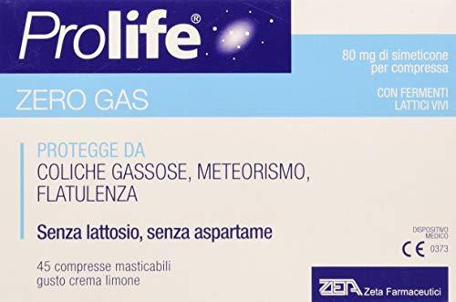 Prolife Simeticone e Probiotici (Fermenti Lattici Vivi), 500 gr