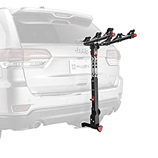 Allen Sports Deluxe+ Locking Quick Release 3-Bike Carrier for 1 1/4 in. and 2 in. Hitch, Model 830QR (B07PKR45DL) | Amazon price tracker / tracking, Amazon price history charts, Amazon price watches, Amazon price drop alerts