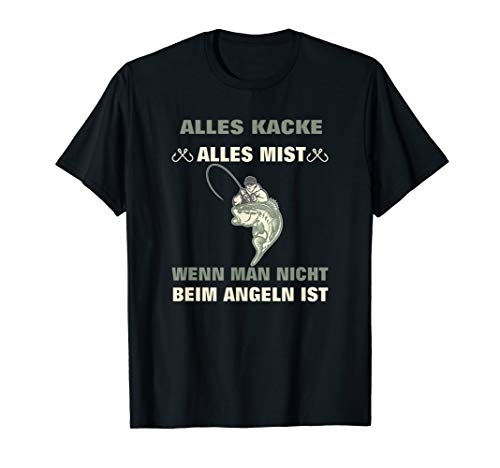 Lustiges Angler Fischer Angel Geburtstag Geschenkidee T-Shirt