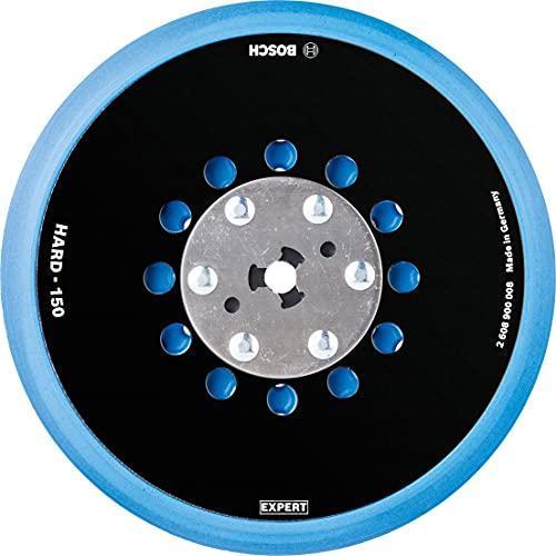 Bosch Professional 1 x Platos de soporte multiperforados de uso universal Expert Multihole, Versión Duro, 150 mm, Accesorios Lijadora excéntrica