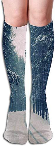 xinfub Socken Swans Woodland Glow Flies Stylish Womens Stocking Urlaub Socke Clearance für Mädchen Comfortable11854