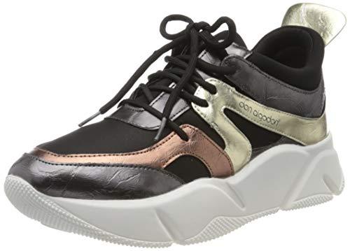 DON ALGODON S303, Zapatillas Mujer, Negro, 38 EU