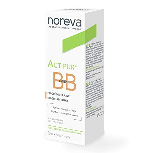 Noreva Actipur Anti-Imperfections BB Farbe Licht Creme, 30ml