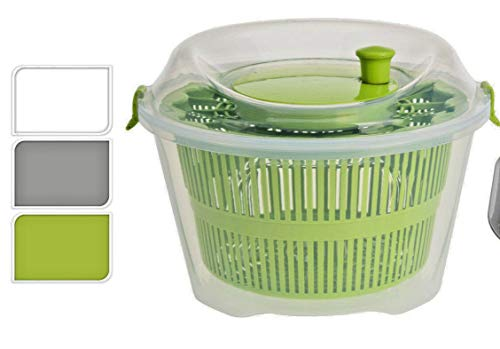 Excellent Houseware Salatschleuder 25X16CM weiß