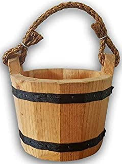 Wooden Bucket 8