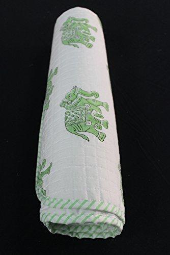 HANDICRAFTOFPINKCITY mano bloque impreso algodón bebé edredones chiled hoja suave bebé hoja algodón manta para bebé pequeño Buty impresión # 07