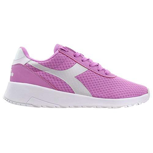 Diadora Womens Evo Run Dd Lace Up Sneakers Shoes Casual - Pink - Size 7.5 B