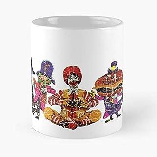 Mcdonalds Mcdonaldland Ronald Mayor Mccheese - Funny Coffee Mug, Gag Gift Poop Fun Mugs