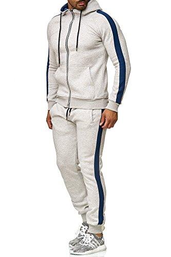 Tazzio heren sportpak joggingpak trainingspak sportbroek & hoodie 18208