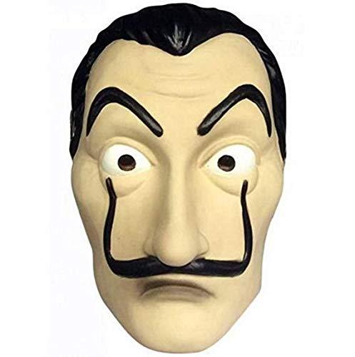 ITAUK Halloween Maske Realistische Neuheit Kostüm Party Maske Latex Gesichtsmaske