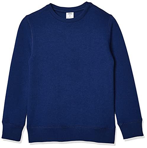 Amazon Essentials Crew Neck Sweatshirt Fashion-Sweatshirts, Marino, 24 meses