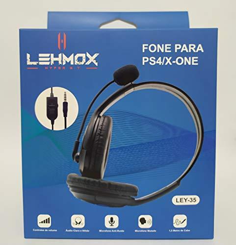 Fone Headset Gamer Lehmox Gt - XBOX ONE - PS4