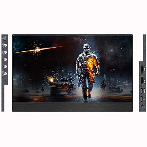 N / A 11.6-inch Portable Monitor High-definition LCD HDMI Interface 1080P Display for Phone/PC/Office/Game