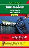 Amsterdam, Stadtplan 1:10.000, City Pocket + The Big Five: Stadskaart 1:10 000 (freytag & berndt Stadtpläne)