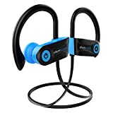 Bluetooth Headphones, Otium Audio Wireless Sports Earbuds, Waterproof IPX7 w/Mic, HD Stereo in-Ear Earphones, Case, Fast Pairing, Gym Running Workout, 7-9 Hrs Battery Noise Cancelling Headsets