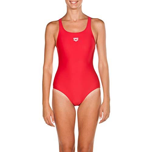 arena Damen Sport Badeanzug, rot (Red), 36