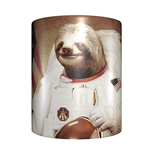 huaichen Taza de café de cerámica con diseño de astronauta para el hogar o la oficina para los amantes del anime Festival regalo de cumpleaños