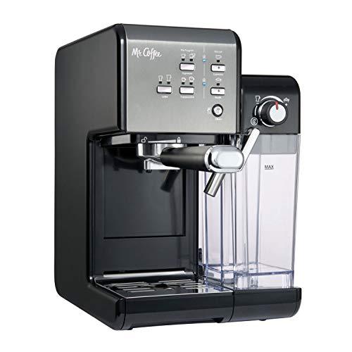 Mr. Coffee BVMC-EM7000DS Home Kitchen 1 Touch 19 Bar Bomba automática Cappuccino, Latte, Cafetera espresso, Negro