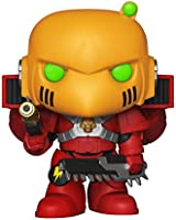 Funko FU38325 POP! Games #500 Warhammer 40K: Blood Angels Assault Marine Action Play Figure