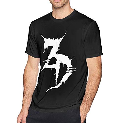 Ze-ds De-ad Logo Man's Short Sleeve T-Shirt Cotton Tee Fashion Round Neck Tops Black