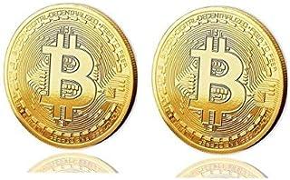 ビットコイン|金メッキコイン( 2パック) by Crypto財布中央