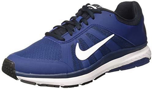 Nike Men's Dart 12 MSL Running Shoes Coastal Blue/White/Dark Obsidian 11.5