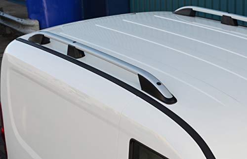 Barras de techo para L1 Caddy (2016+) aluminio plateado