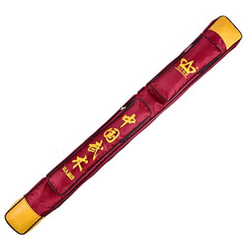 ZHXQ Bolsa para la Espada,Japonesa Artes Marciales Espada Bolsa Armas Larga Arma,Bolsa de Transporte de Artes Marciales Chinas Paquete de Almacenamiento de la Espada,Fuerte y Duradero 108CM