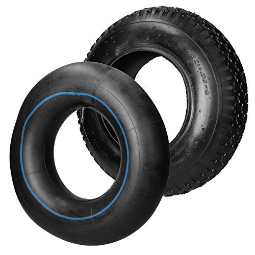 ECD Germany Neumático de carretilla con cámara 4.80/4.00-8
