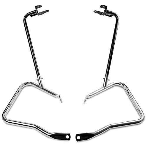 Krator Saddlebag Guard Bracket Bar Kit Compatible with 2014-2019 Street Glide FLHX