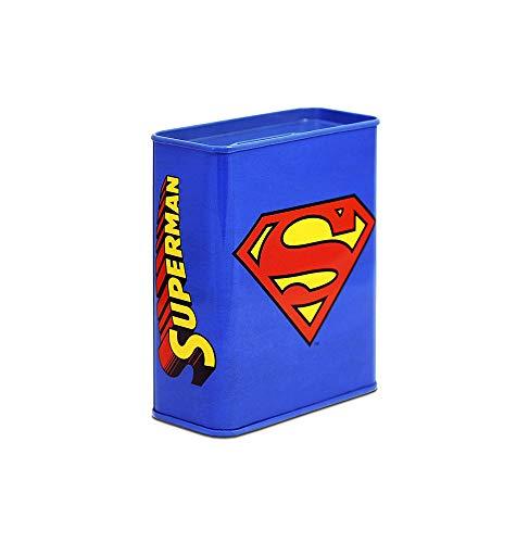 Logoshirt DC Comics - Superman Logo Alcancia - Cerdito Hucha - Diseño Original con Licencia