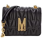 Moschino mujer M bolsa de asa larga nero