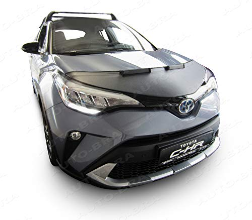 Auto-Bra AB3-00485 kompatibel mit Toyota C-HR Bj. ab 2017 Haubenbra Steinschlagschutz Tuning Bonnet Bra