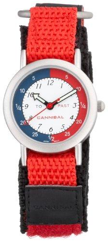Cannibal CT003-06 - Reloj 0 con correa textil roja