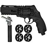 Action Village Umarex T4E TR50 Revolver .50 Caliber Training Pistol Paintball Gun w/ 11 Joule Upgrade Valve