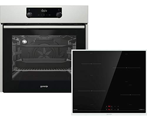 gorenje Hot Chili BO Umluft Induktion Backofen-Set, edelstahl
