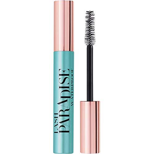 L'Oréal Paris MakeUp Mascara Lash Paradise, Waterproof, Formula Volumizzante e AlLungante, Resistente all'Acqua, Nero, 6.4 ml, Confezione da 1