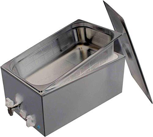 Wasserbad für die schonende erwährmung von Moorkompressen Fango Wärmeträger Starterset incl. 30 x 40 cm Premium Wärmeträger mit Naturmoor Füllung