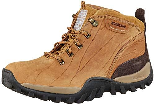 Woodland Men's Ogb 3325119_Camel Leather Boots-8 UK (42 EU) (9 US) 3325119CAMEL