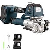 YHWD Flejadora Manual, Flejadora Eléctrica con Herramienta Flejadora, Flejadora Portátil, Ancho 13-25 mm, para PP/Pet
