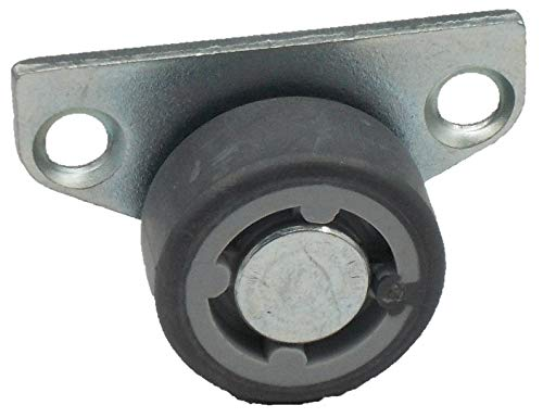 Hettich Seitenrolle für Hartböden 30mm