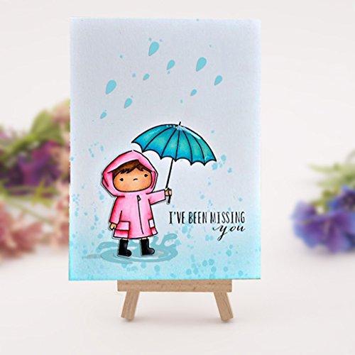 Regentropfen Schneiden Schablonen, Cutting Dies, Prägeschablonen Stanzformen Schablonen Papier Karten Sammelalbum Dekor